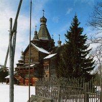Витославлицы. Церковь Рождества Богородицы (1531 год.) :: Николай Кондаков