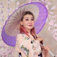 Фотосессия в кимоно в студии :: Наталья Преснякова