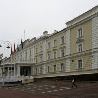 Дворец, занятый Министерством охраны края :: Елена Павлова (Смолова)