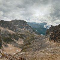 Абхазия. Вид с перевала Дзоу :: Денис Масленников