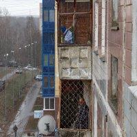 Два балкона. :: Анатолий. Chesnavik.