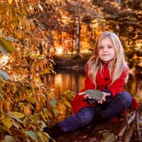 Осенний детский портрет :: Алексей Шехин