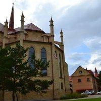 Внутренний дворик, Храма Святой Девы Марии Фатимской. :: Андрей Хлопонин