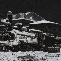 Зимняя ночь :: Борис Соломатин