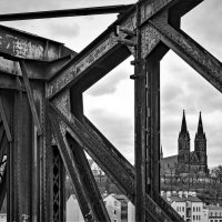 На Вышеградском железнодорожном мосту :: Eugene *