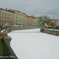Канал Грибоедова и Львиный мост :: Сергей Антонов