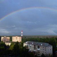 Радуга в городе :: Марина Кушнарева