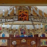 Паникадило церкви Донской иконы Божией Матери в Люблине, в Москве. :: Александр Качалин