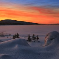 Неожиданный закат... :: Владимир Чикота