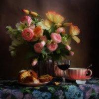Букетик и чай с кексом :: Маргарита Епишина
