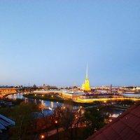 Фотография с крыши дома в Санкт-Петербурге :: Sabina