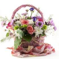 Корзинка с цветами :: Дмитрий Аргунов