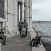Venezia.Punta della Dogana alla  Salute. :: Игорь Олегович Кравченко