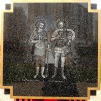 Анатолия и Протолеона образ на Стелле Поклоного креста. :: Александр Качалин