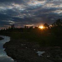 Закат на Клязьме. :: Ирина Нафаня