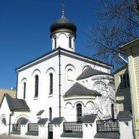 Старообрядческая церковь Покрова Пресвятой Богородицы в Турчаниновом переулке. :: Татьяна Беляева