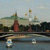 Большой кремлёвский дворец и соборы Московского кремля. :: веселов михаил