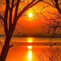 Закат на цыпочках подкрался тихо... :: Виктор Малород