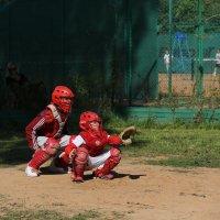 Бейсбол ( один кэтчер; другой бэттер) :: Валерий