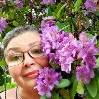 Рита - цветущая женщина))) :: Борис