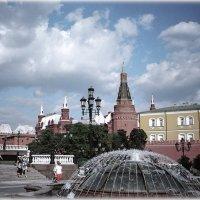 «Манежная площадь и фонтан» :: Absolute Zero