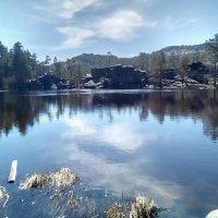 Дивное озеро...Сказка. :: Хлопонин Андрей Хлопонин Андрей