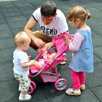 Берегите своих детей, их за шалости не ругайте! :: Татьяна Помогалова