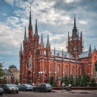 Москва. Католический костел на малой Грузинской. :: В и т а л и й .... Л а б з о'в