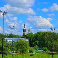 Великие Луки, 5 июня 2020, вид на центр города... :: Владимир Павлов