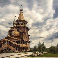 Деревянный храм. Гремячий ключ. Подмосковье :: Александр Шмалёв