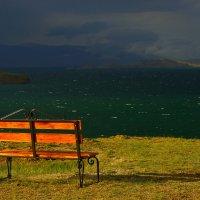 Порыв ветра нагнал облака :: Nikolay Svetin