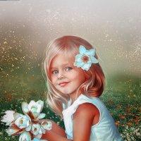 Летний детский коллажик. :: Светлана Кузнецова