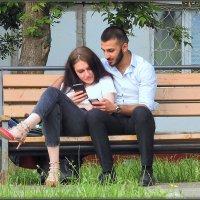Любовь со смартфоном :: Михаил