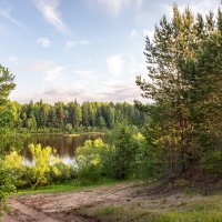 на берегу реки Вятка-2 :: Михаил