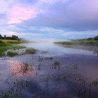 Волшебно-серебристый туман польётся тихо вдоль реки :: Павлова Татьяна Павлова