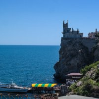 Крым.Вид на Ласточкино гнездо. :: Ирина Майорова