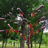 """Скульптурная композиция """"Дерево памяти"""" :: Надежда"""