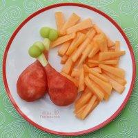 Когда муж просит картошечку с курочкой, а дома только арбуз и дыня) ) ) :: Лара Гамильтон