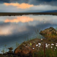 Небо упало в озеро... :: Галина Ильясова