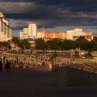Вид на город с набережной р.Белой :: Ueptkm
