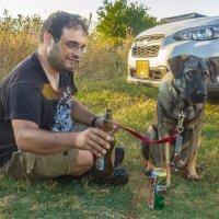 Собака лучшей друг. :: Адик Гольдфарб