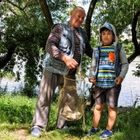Рыбаки... :: Анатолий Колосов