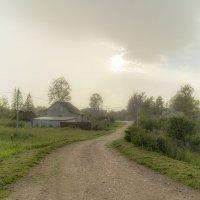 Ливень в деревне :: Арина