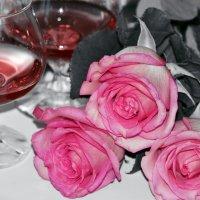 малиновое вино... :: Evgen Любитель