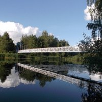Навесной мост. :: Лия ☼