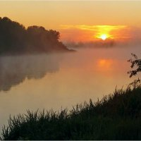 Утренний туман :: Геннадий Худолеев