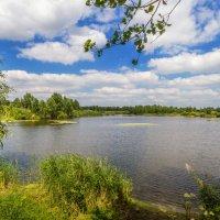 Озерный пейзаж :: Георгий Кулаковский