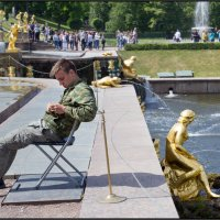 Не сошлись характерами. :: Валерий Готлиб