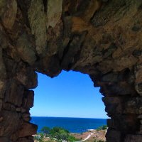 Вид на море из генуэзской крепости :: Вовик Пупкин