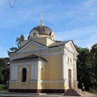 Храм-часовня Тихвинской иконы Божией Матери :: Вера Щукина